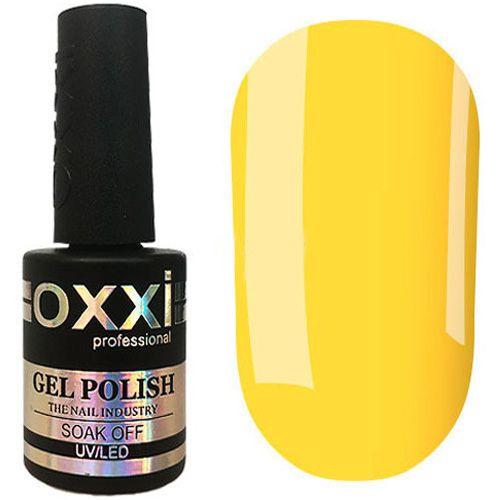 Гель-лак Oxxi №093 (желтый с мелкими блестками) 10 мл