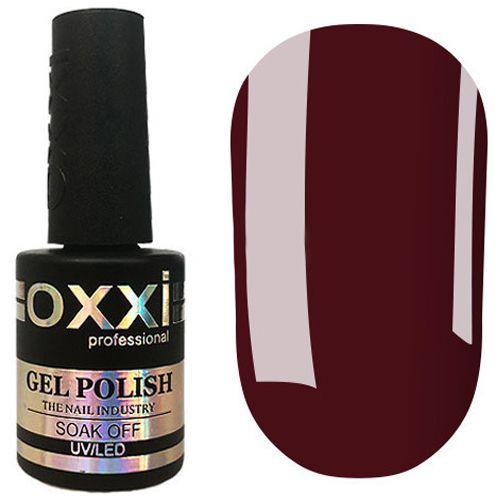 Гель-лак Oxxi №299 (бордо, эмаль) 10 мл