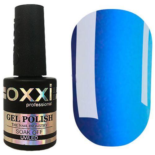 Гель-лак Oxxi №309 (насыщенно-голубой, эмаль) 10 мл