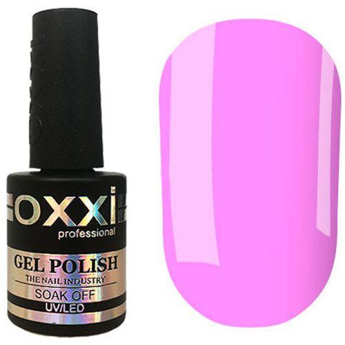 Гель-лак Oxxi №316 (неоново-лиловый, эмаль) 10 мл