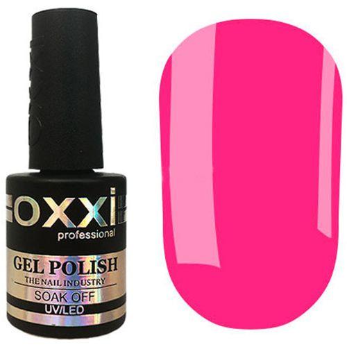 Гель-лак Oxxi №318 (неоново-розовый, эмаль) 10 мл
