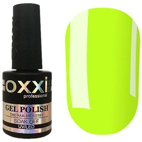 Гель-лак Oxxi №321 (желто-салатовый, эмаль) 10 мл