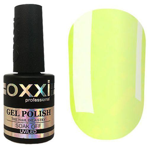 Гель-лак Oxxi №324 (нежный лимонный, эмаль) 10 мл