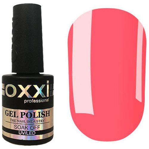 Гель-лак Oxxi №329 (ярко-персиковый, эмаль) 10 мл