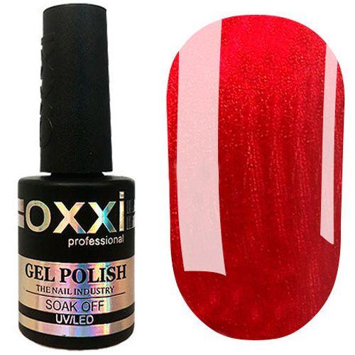 Гель-лак Oxxi №355 (красный с микроблеском) 10 мл