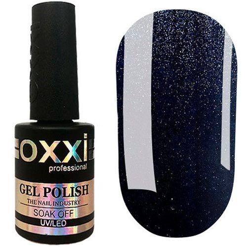 Гель-лак Oxxi №357 (графитовый с голубым микроблеском) 10 мл