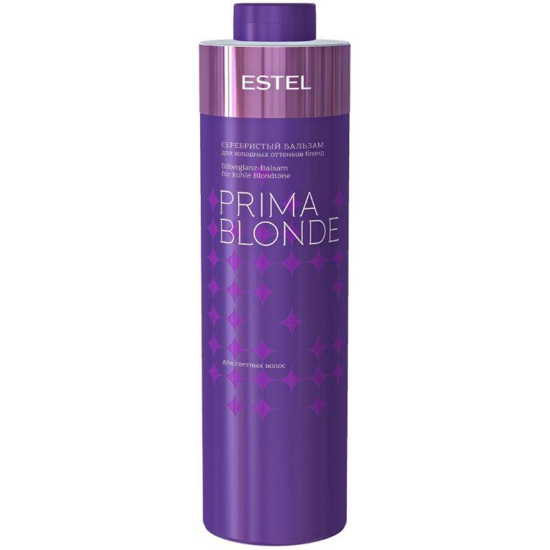 Серебристый бальзам для холодных оттенков блонд Estel Professional Prima Blonde