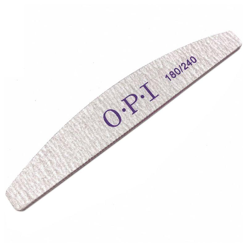 Пилка для ногтей Starlet OPI (180/240 грит) 5 штук