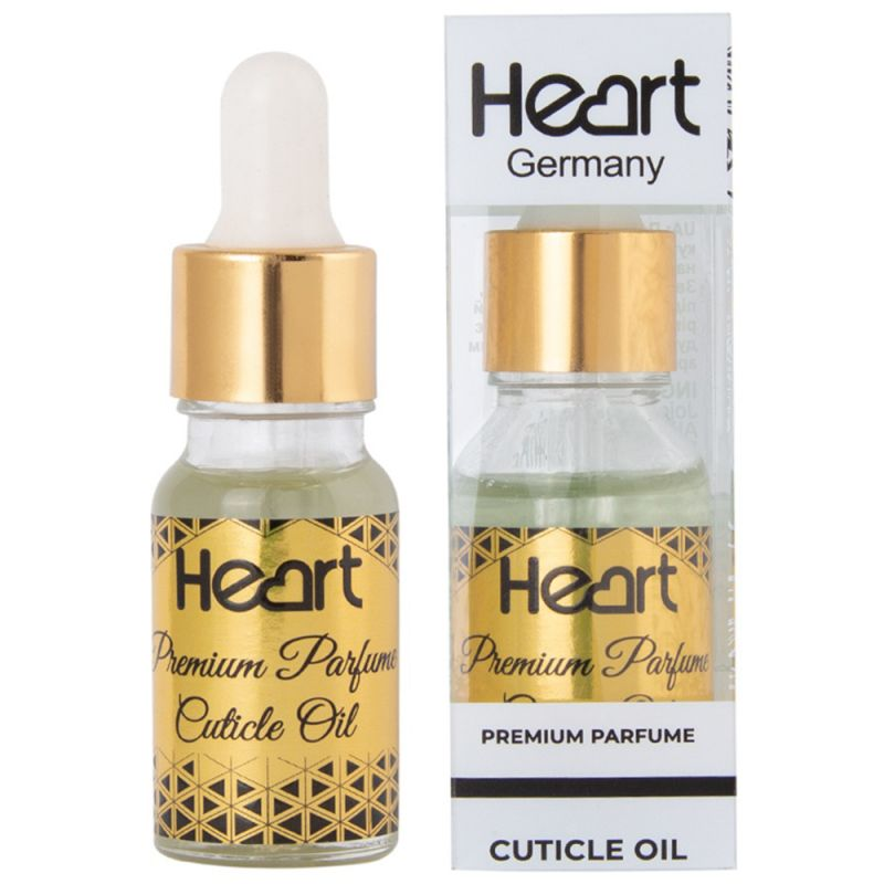 Масло для кутикулы Heart Premium Parfum Cuticle Oil Woman Code (парфюмированное) 15 мл