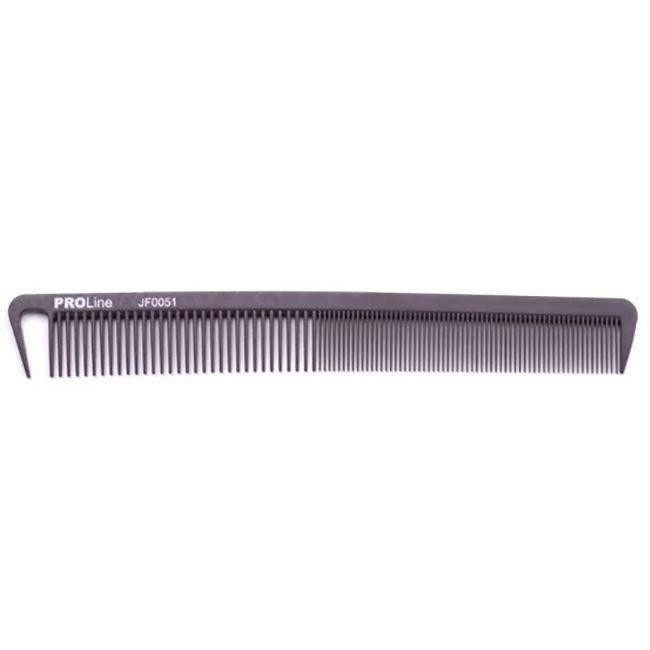 Расческа для стрижки PROline 18 см (силиконовая)
