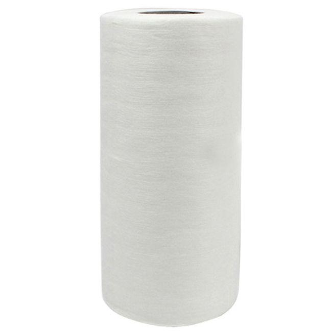 Салфетки косметические в рулоне Timpa 20х20 см (спанлейс, сетка) 100 штук