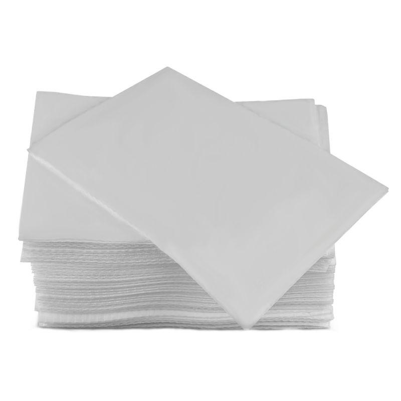 Салфетки одноразовые в упаковке Timpa 20х20 см (спанлейс, сетка, белый) 100 штук