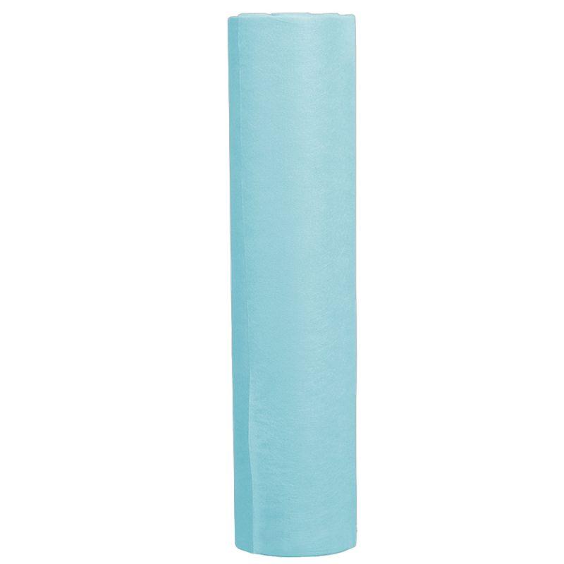 Простыни одноразовые в рулоне Timpa 0.8х100 м 20г/м2 (спанбонд, голубой)