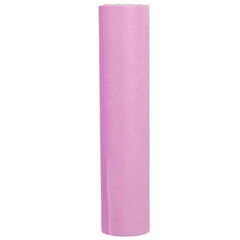 Простыни одноразовые в рулоне Timpa 0.6х100 м 20г/м2 (спанбонд, розовый)