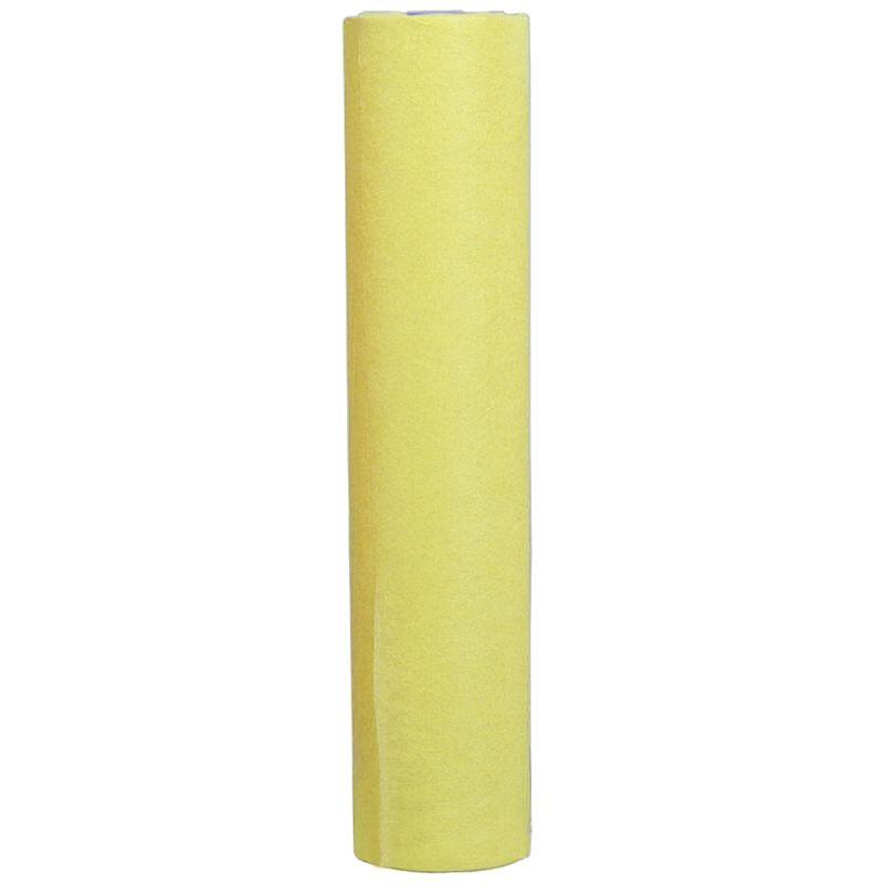 Простыни одноразовые в рулоне Timpa 0.8х100 м 20г/м2 (спанбонд, желтый)