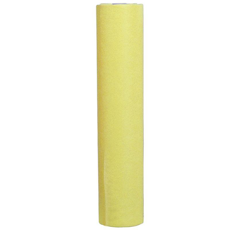 Простыни одноразовые в рулоне Timpa 0.6х100 м 20г/м2 (спанбонд, желтый)