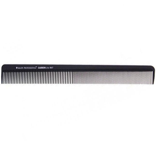 Расческа планка узкая Salon Professional Carbon Line 0047