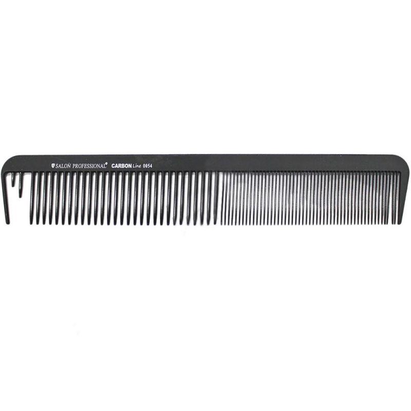 Расческа планка с зубцом для пробора Salon Professional Carbon Line 0054