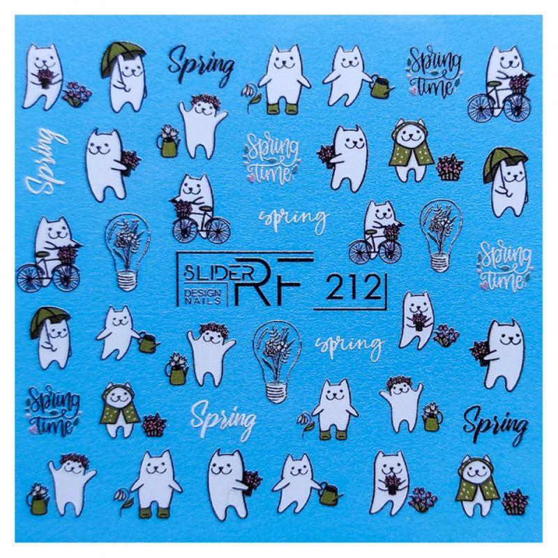 Слайдер-дизайн Slider RF 212 Весна