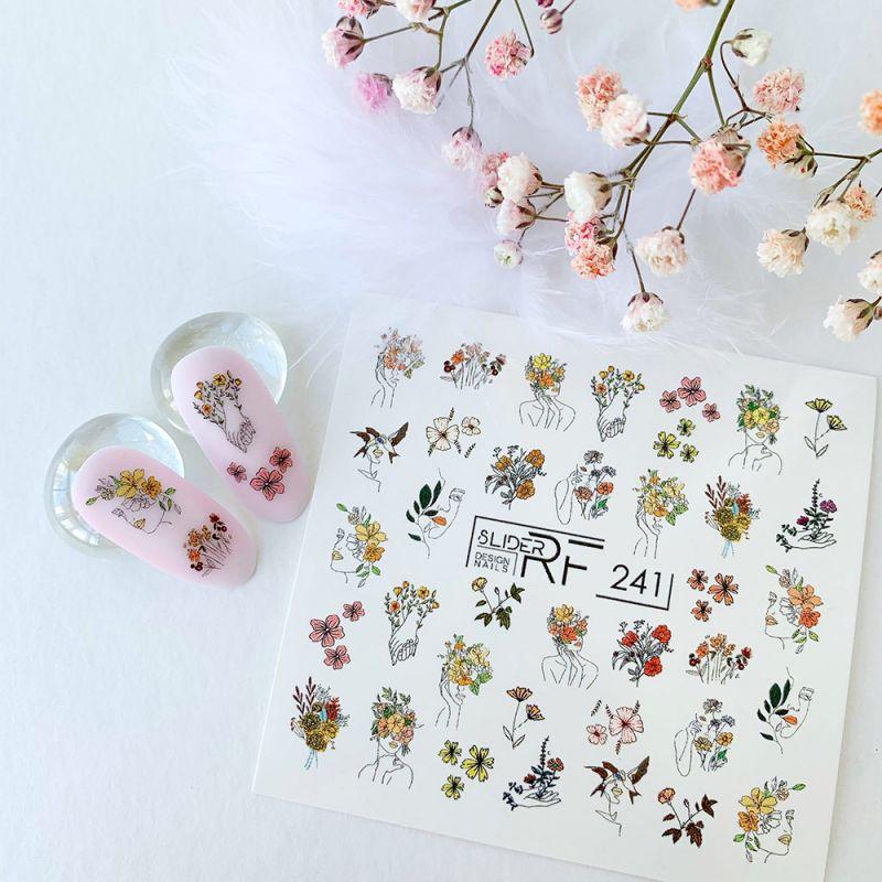 Слайдер-дизайн Slider RF 241 Осенние цветы