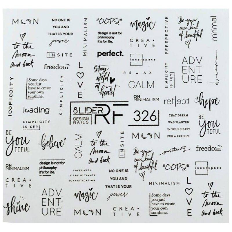 Слайдер-дизайн Slider RF 326 Фразы