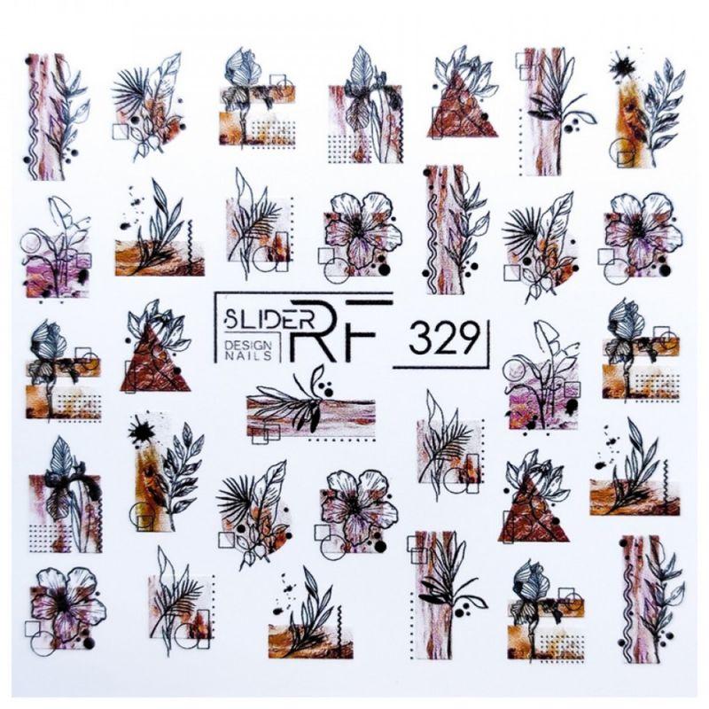 Слайдер-дизайн Slider RF 329 Цветы и ветки