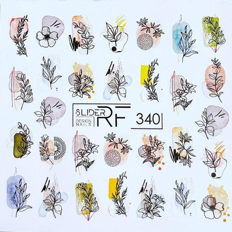 Слайдер-дизайн Slider RF 340 Ветки и цветы