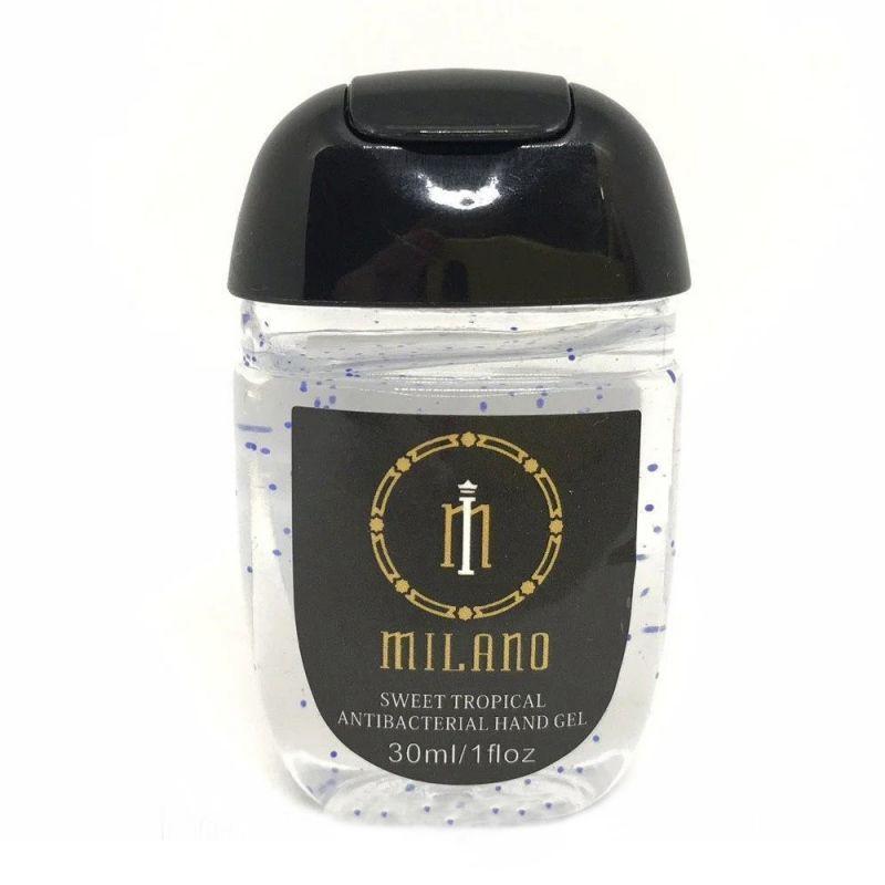 Антибактериальный гель для рук Milano White 30 мл