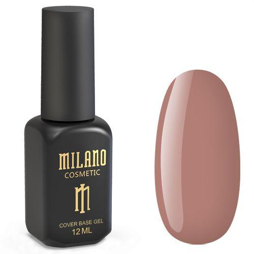 База для гель-лака Milano Cover Rubber Base Gel №15 (какао) 12 мл