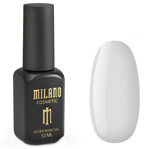 База для гель-лака Milano Cover Rubber Base Gel №23 (кремовый серый) 12 мл
