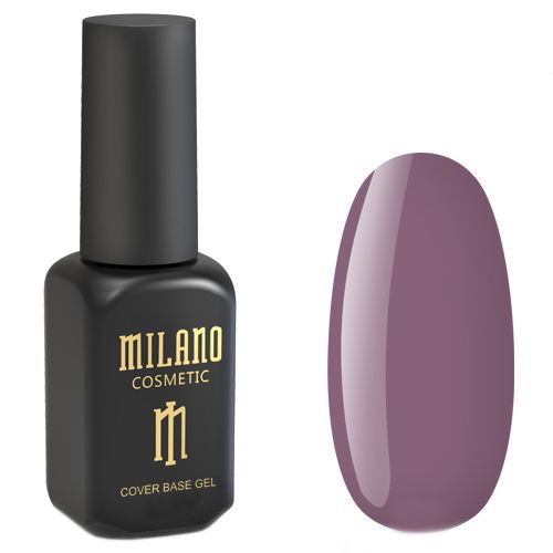 База для гель-лака Milano Cover Rubber Base Gel №11 (сливовый) 8 мл