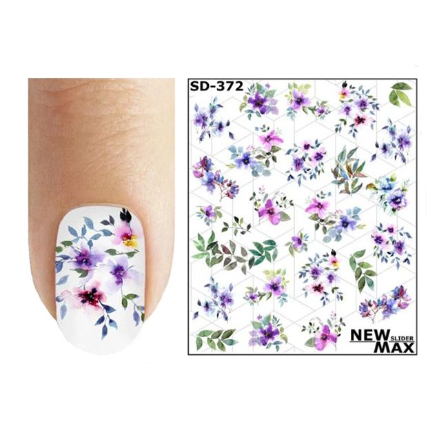 Слайдер-дизайн New Max Цветы SD-372