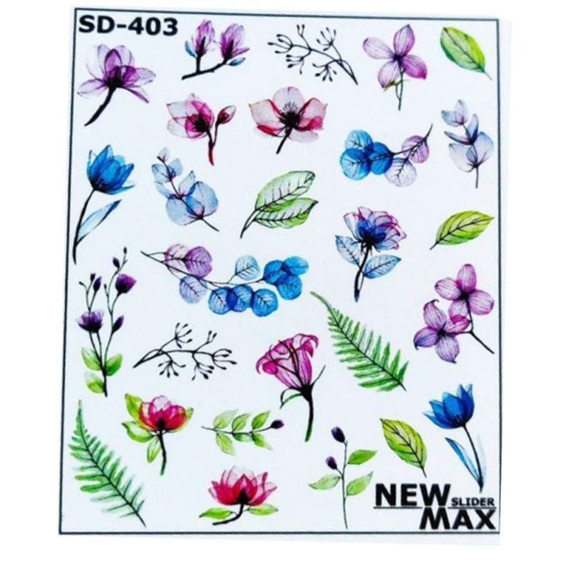 Слайдер-дизайн New Max SD-403 Яркие цветы