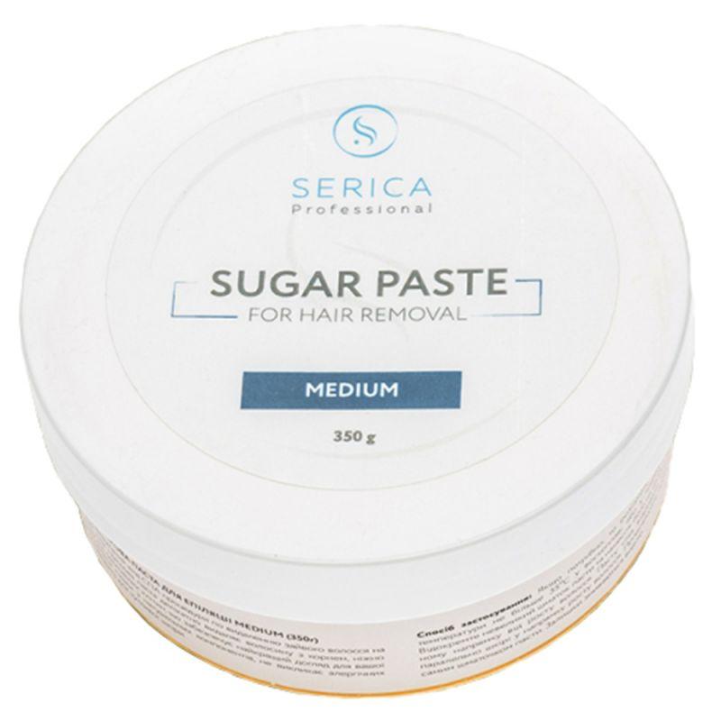 Сахарная паста для депиляции Serica Sugar Paste For Hair Removal (средняя) 350 г