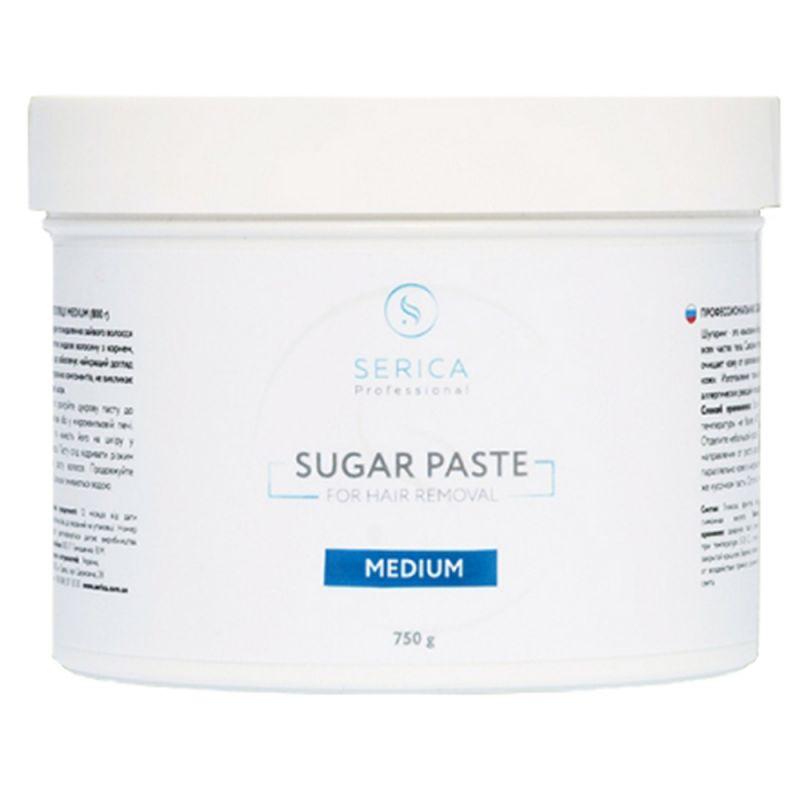 Сахарная паста для депиляции Serica Sugar Paste For Hair Removal (средняя) 750 г