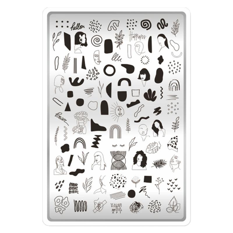 Пластина для стемпинга Taki Da 18 Art