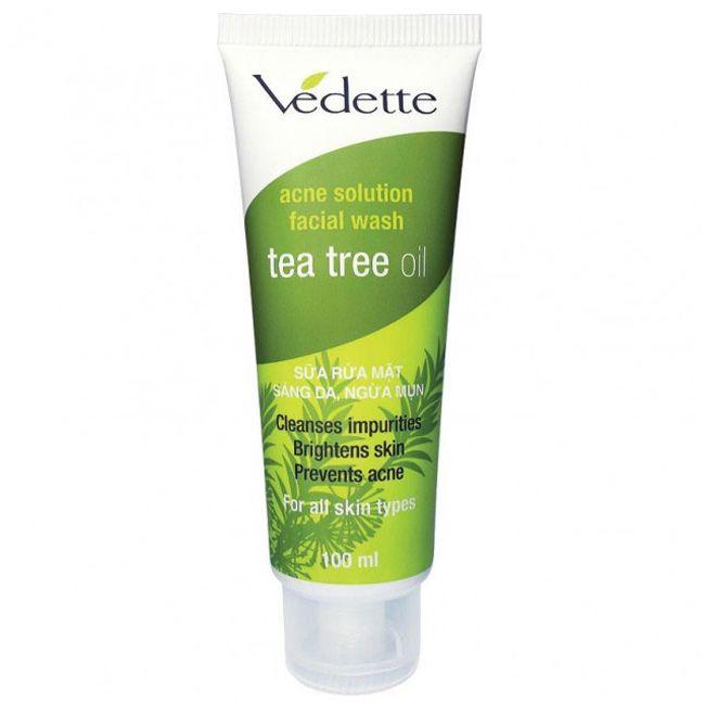 Пена для умывания Vedette Tea Tree Oil с маслом чайного дерева 100 мл