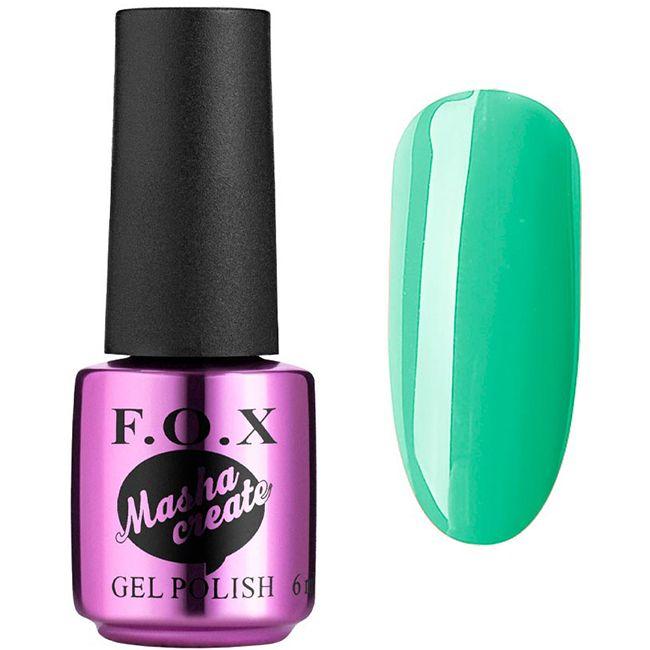 База для гель-лака цветная F.O.X Masha Create Color Base №003 (ониксовый, эмаль) 6 мл