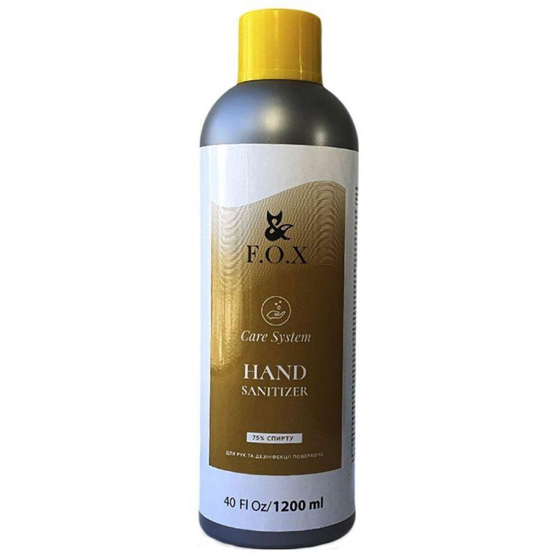 Антисептик для рук и кожи F.O.X Hand Sanitizer 75% 1200 мл