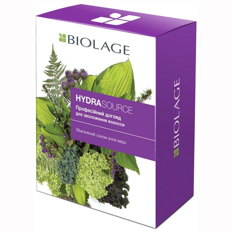 Набор для интенсивного увлажнения Matrix Biolage Hydrasource (шампунь 250 мл и кондиционер 200 мл)
