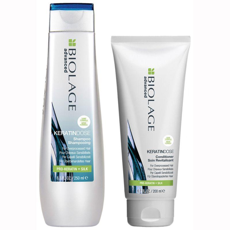Набор для восстановления волос Matrix Biolage Keratindose (шампунь 250 мл и кондиционер 200 мл)