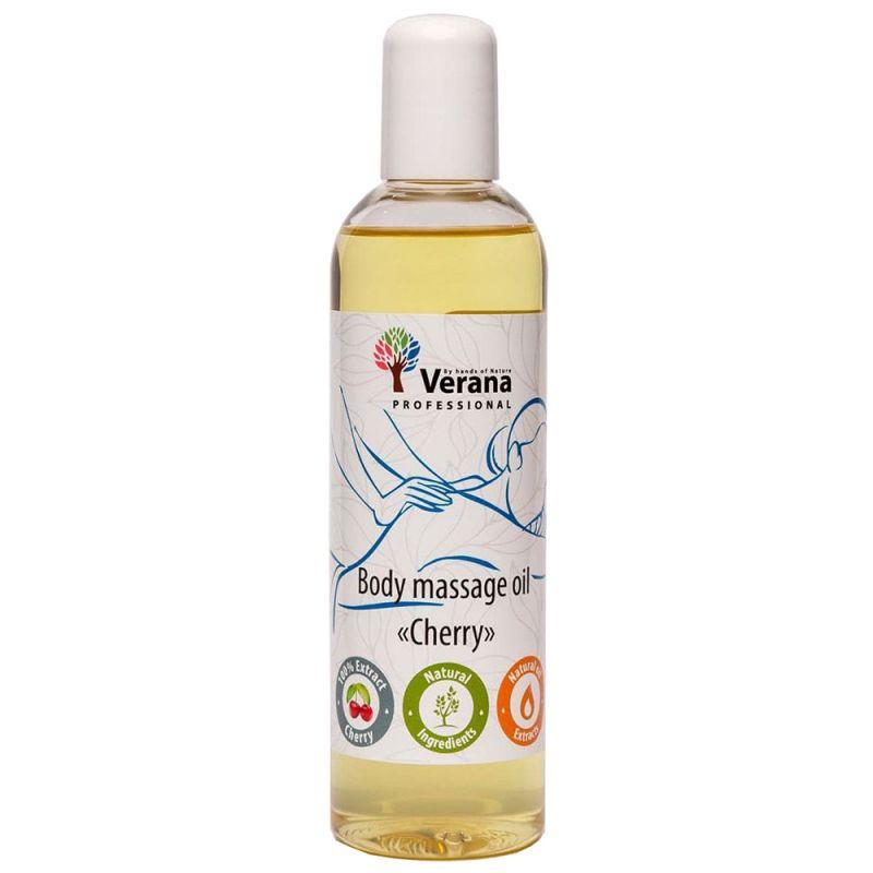 Массажное масло Verana Professional Body Massage Oil Cherry 100 мл