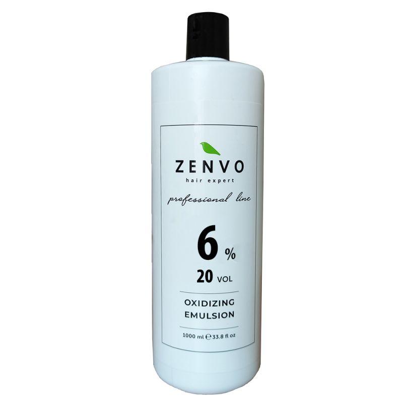 Окислительная эмульсия Zenvo Oxidizing Emulsion 20 Vol 6% 1000 мл