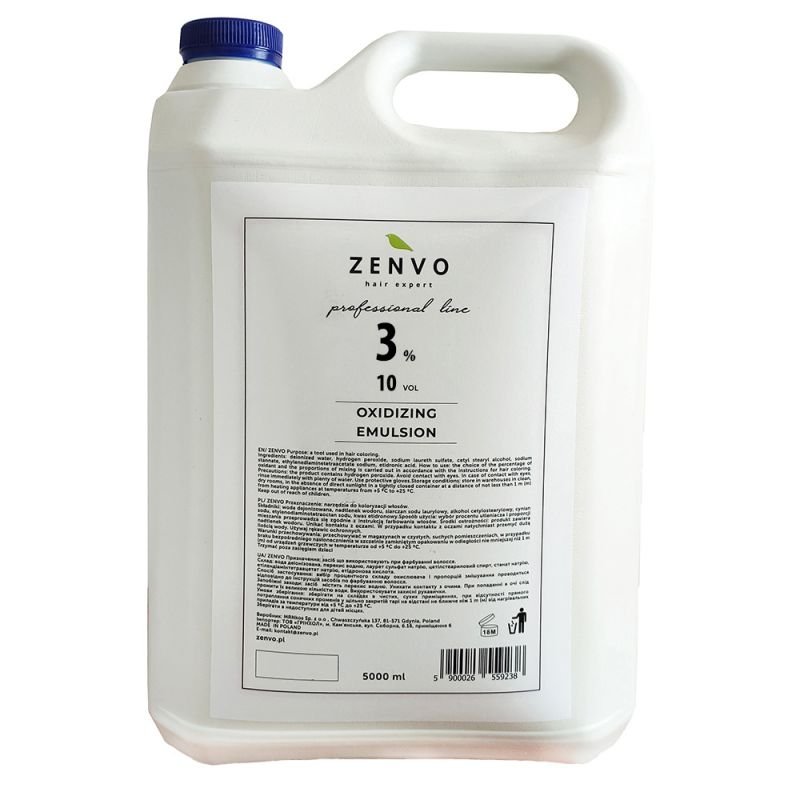 Окислительная эмульсия Zenvo Oxidizing Emulsion 10 Vol 3% 5000 мл