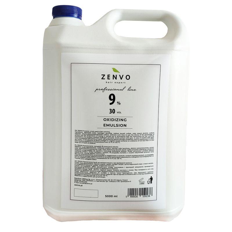 Окислительная эмульсия Zenvo Oxidizing Emulsion 30 Vol 9% 5000 мл