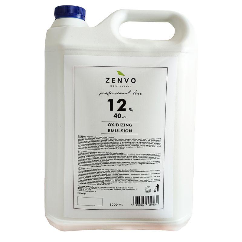 Окислительная эмульсия Zenvo Oxidizing Emulsion 40 Vol 12% 5000 мл